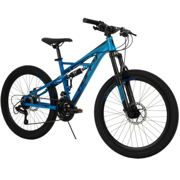 Huffy Oxide 24inch Boys Mountain Bike for Men Blue Fast Free Shipping New Arrive $337.50
