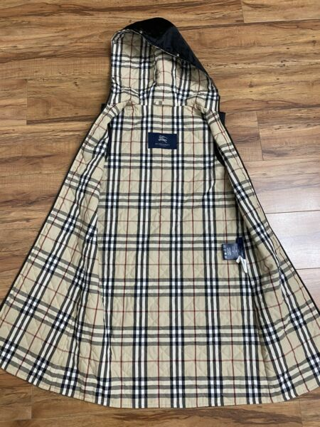 Burberry Nova Plaid Zip Up Liner for Trench Coat Wear as cardigan? $70.00