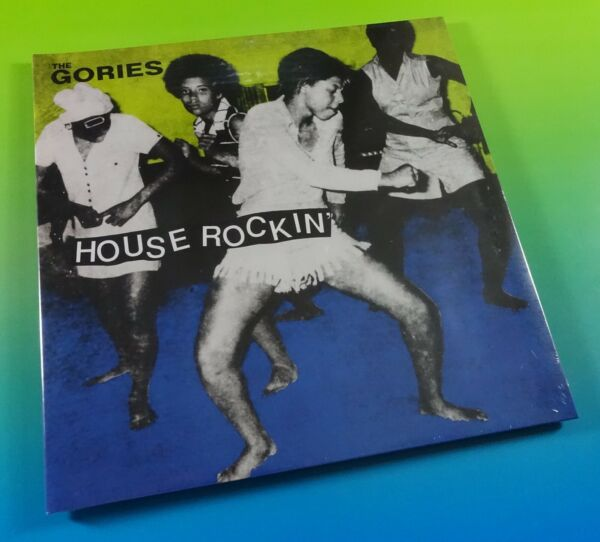 THE GORIES House Rockin Deluxe Ed. IMPORT Vinyl LP NEW 🔥 Garage Punk DIRTBOMBS $26.99