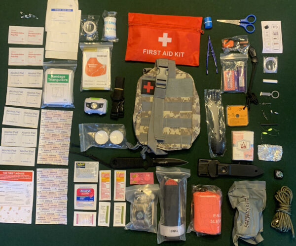 US Army Special Forces Emergency Survival Kit Bug out Bag Disaster Medical