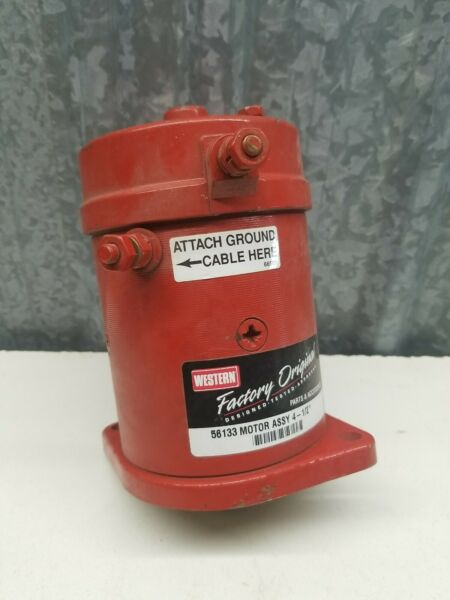 Western Snow Plow Motor ASSY 56133 4 1 2quot;