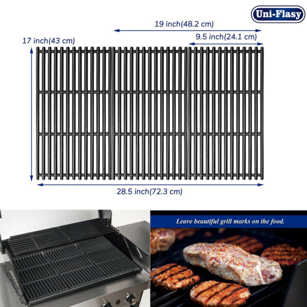 Cast Iron Cooking Grate for Charbroil 463242715 463242716 463276016 466242715