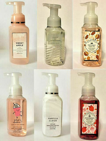 Bath amp; Body Works Hand Soaps Foaming Gentle Gel or Luxe *NEW SCENTS*