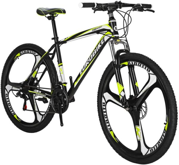 27.5quot; Mountain Bike 21 Speed Disc Brakes Bicycle Front Suspension Mens Bikes $309.00