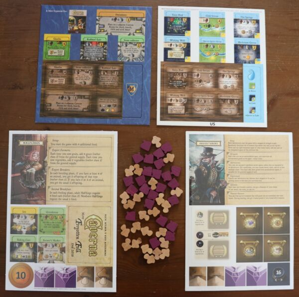 Caverna Promo Mini Expansion Forgotten Folk Halflings Adventurers Water Pack $16.99