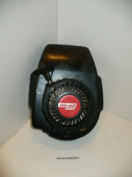 SEARS CRAFTSMAN BLOWER HOUSING #35757 W RECOIL STARTER #31 050 USED FREE SHIP