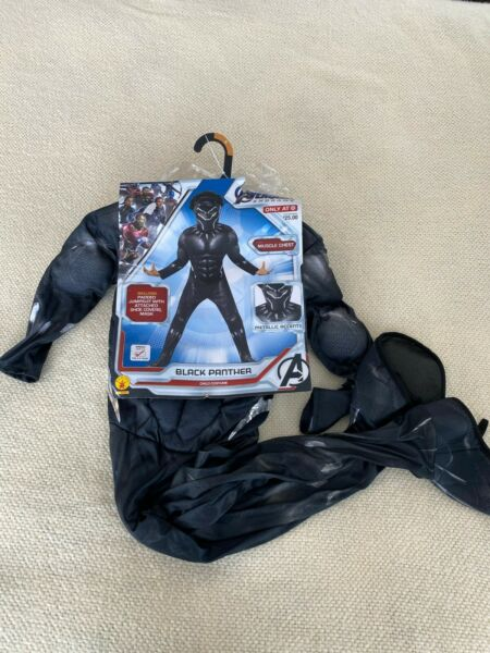 Avengers Endgame Black Panther Child Costume Size Small