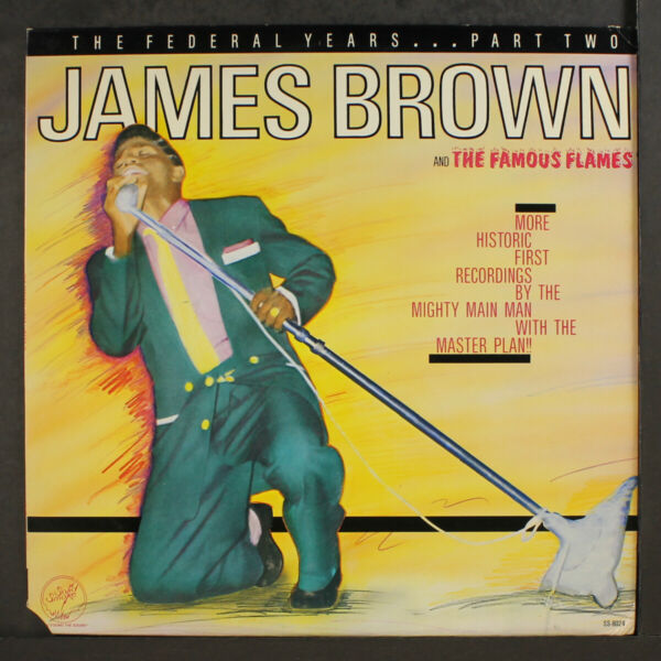 JAMES BROWN: the federal years part 2 SOLID SMOKE 12quot; LP 33 RPM