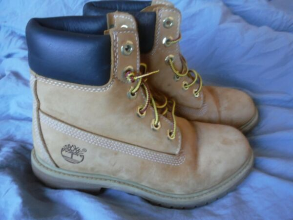 Timberland Work Boots Size 6 W Pre owned $29.99