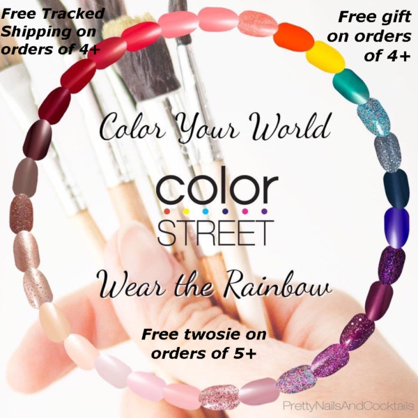COLOR STREET Nail Strips Retired* Exclusives* Rare* Free Tracked Ship on 4 $9.95