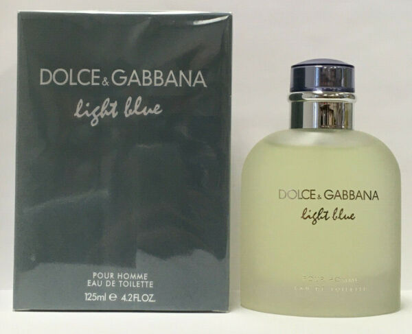 Dolce amp; Gabbana Light Blue 4.2oz Men#x27;s Eau de Toilette Spray New