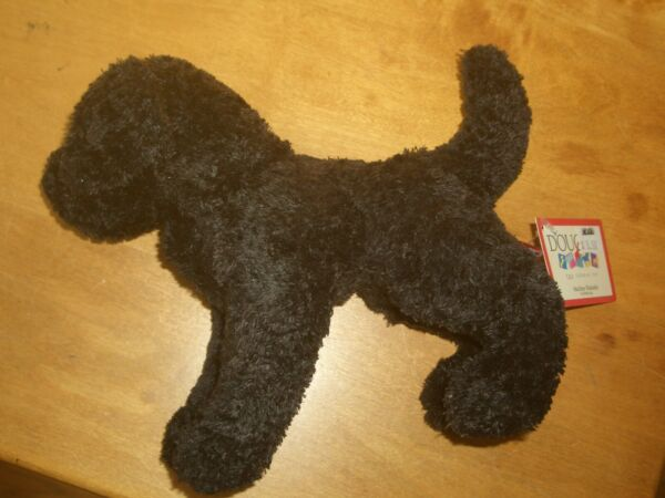 New Douglas Stuffed Toy Black Lab Dog named quot;Blackiequot; with Tags