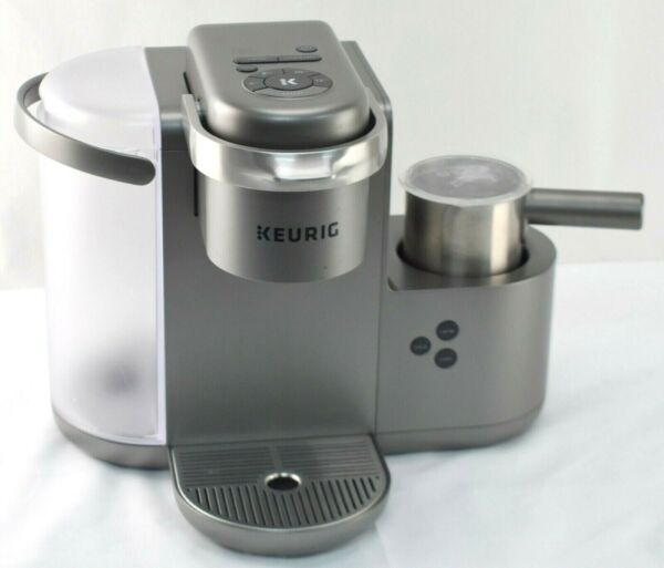 READ USED OEM Keurig K Cafe K84 Special Edition Coffee Latte Cappuccino Maker