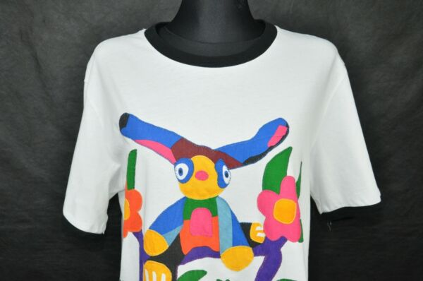 MARNI FOR Hamp;M FLORAL TEE WOMEN#x27;S size L $55.00