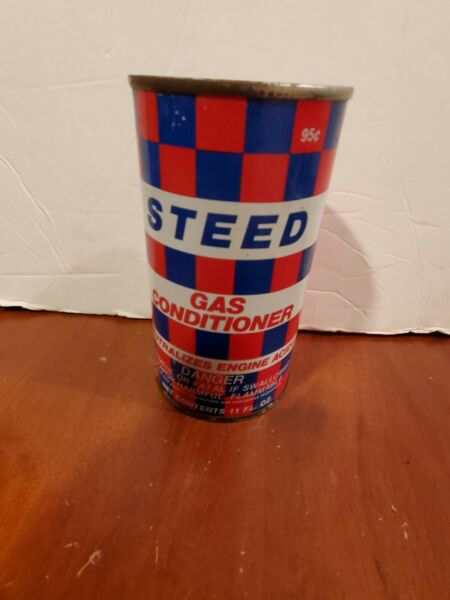 Vintage Can Steed Gas Conditioner Full Unopened 11 Fl. oz in good shape $7.00