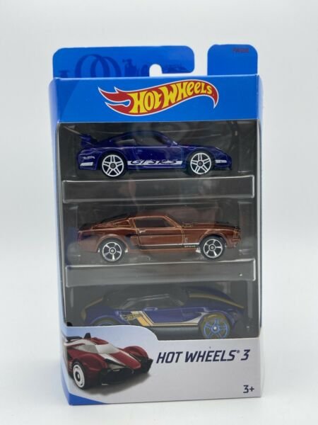 2018 Hot Wheels 3 Car Pack Porsche GT3RS and others 1 64 Scale FREE SHIPPING $12.74