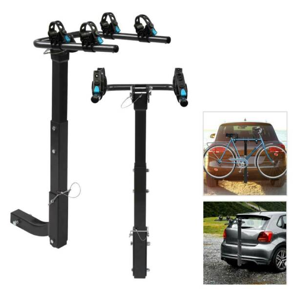 2 Bike Car SUV Truck Racks Carrier Rack Hitch Mount Swing Down Bicycle Receiver $59.97
