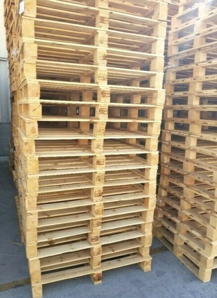 HT Used Wood Heat Treated Pallet37x48quot;Natural Wood Four Way 10 Ea Trboxtapes $124.00