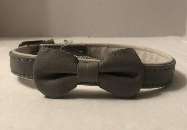 Martha Stewart Leather Buckle Dog Collar Size 16 Neck Size 14.5 17.5inches NEW $9.90