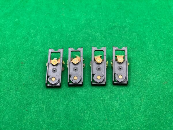 4 NOS AURORA AFX MAGNA TRACTION # 1750 MEAN GREEN ARMATURE amp; GEAR PLATES NEW $20.00