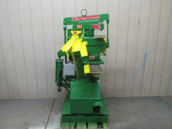 Dynamic Specialties 23P 522G Ironworker 35 Ton Punch Press Angle Iron Shear