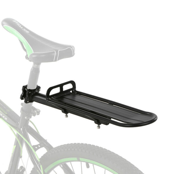 Bicycle Carrier Rear Rack Fender Luggage Seat Quick Release Metal Pannier Holder $16.77