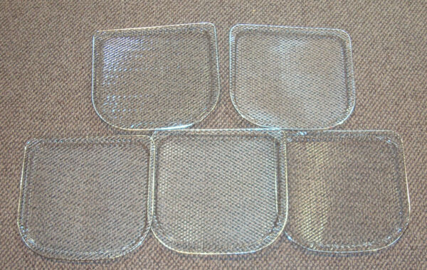 Power Air Fryer CM 002 Replacement Mesh Air Flow Racks Shelf lot of 5