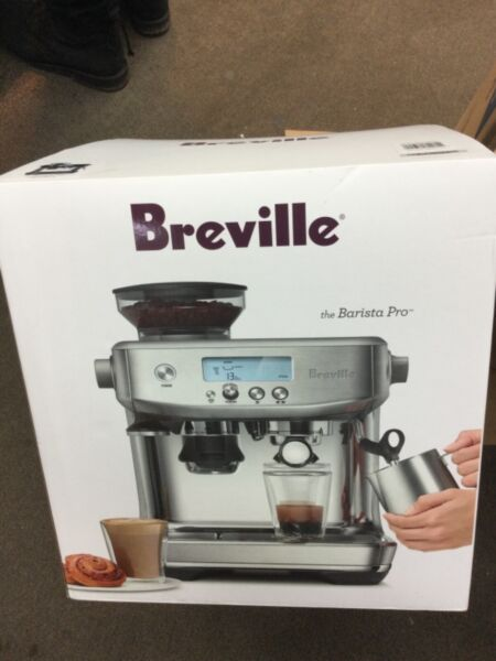 Breville The Barista Pro ☕️ Espresso Machine Black **BRAND NEW**