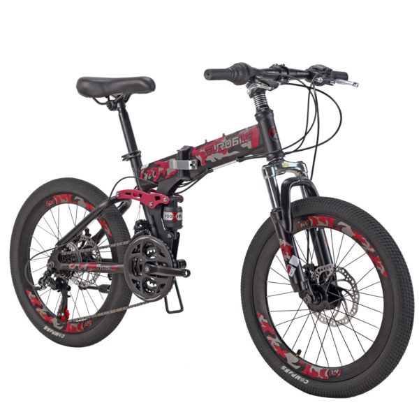 Mountain Bike for Kids 20 inch Daul Disc Brakes Folding Bicycle for boys girls $229.00