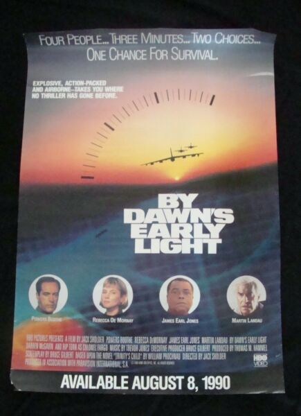 BY DAWNS EARLY LIGHT movie poster POWERS BOOTHE REBECCADE MORNAY original video