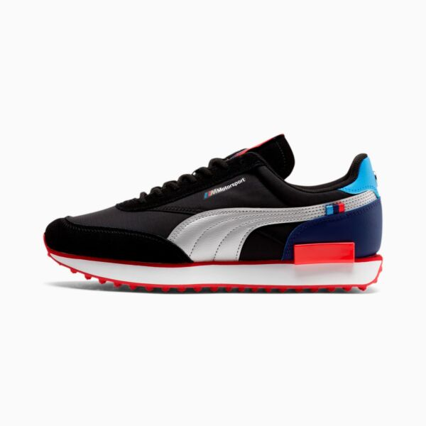 PUMA x BMW Motorsport Future Rider Black Red Blue M3 MMS 306649 01 Men#x27;s