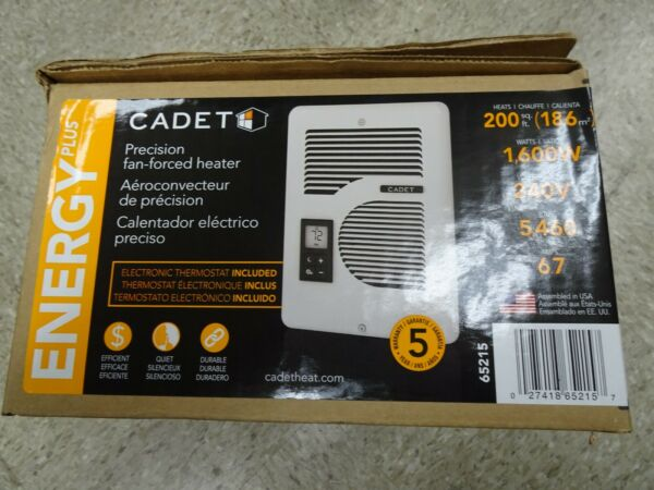 NEW Cadet Heater CEC163TW Energy Plus In Wall Electric Heater