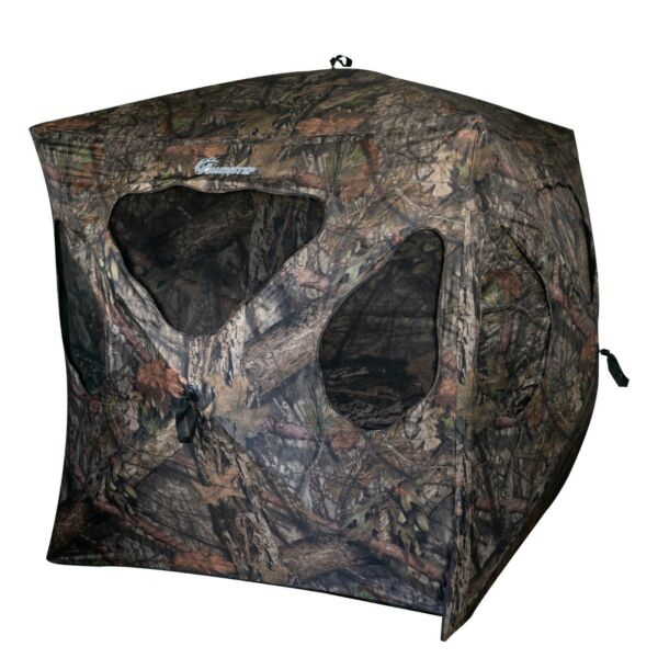 Ameristep Silent Brickhouse 3 Person Ground Hunting Blind