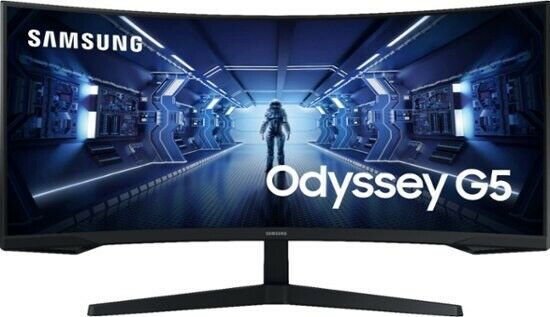 New 34quot; G5 Odyssey Gaming Monitor With 1000R Curved Screen 3440 x 1440