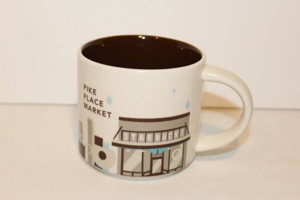 2013 Starbucks Pike Place Market You Are Here YAH Coffee Tea Mug Seattle