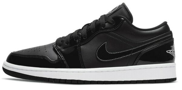 Air Jordan 1 Low All Star Retro Carbon Black White DD1650 001