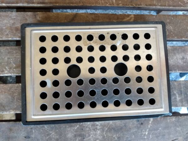 Via Venezia Saeco SIN006XN REPLACEMENT STAINLESS GRATE amp; DRIP TRAY FAST SHIP