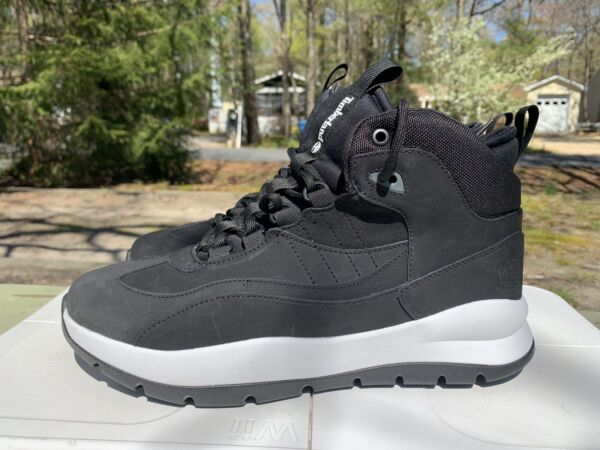 New Size 10 Timberland Men's Boroughs Project Waterproof Mid Boots Black A2DTW $64.99