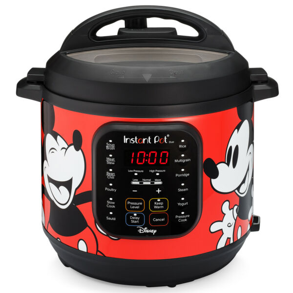 6 Quart Duo Electric Pressure CookerFood Steamer Rice Cooker amp; More Red $69.98