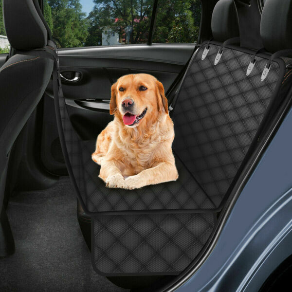 Pet Car Seat Cover Hammock Scratchproof SUV Trunk Protector With Belt Dog Cat CA C $41.99