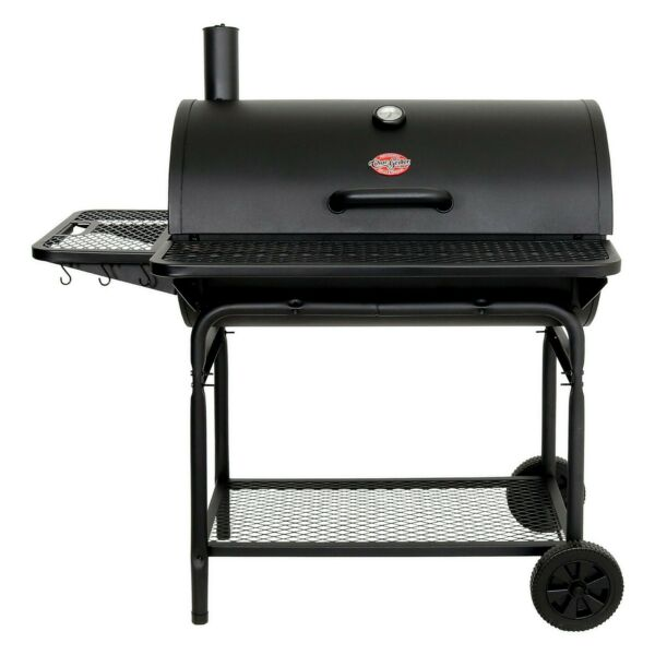 Char Griller 2735 Pro Deluxe XL Charcoal Grill Black