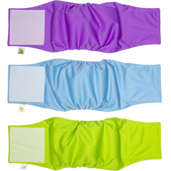 Pet Magasin Male Dog Belly Manner Band Wraps Nappies 3 Pack Small $17.84