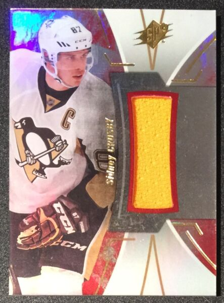 2016 17 SPx Stars and Legends Red Material Sidney Crosby #34 $29.99