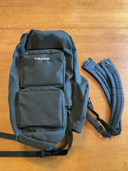 superb t bags Model HH Motorcycle trunk bag with straps Cordura USA Made $39.99
