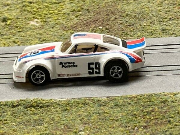 Aurora AFX Custom Resin Porsche 911 RSR HO Slot Car Body Mounts to AFX chassis