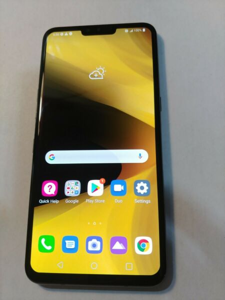 LG V50 ThinQ 128GB Aurora Black Sprint Unlocked