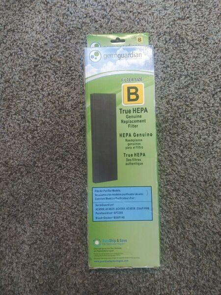 GermGuardian Hepa Replacement Air Filter Size B FLT4852 NEW FREE SHIPPING $16.00