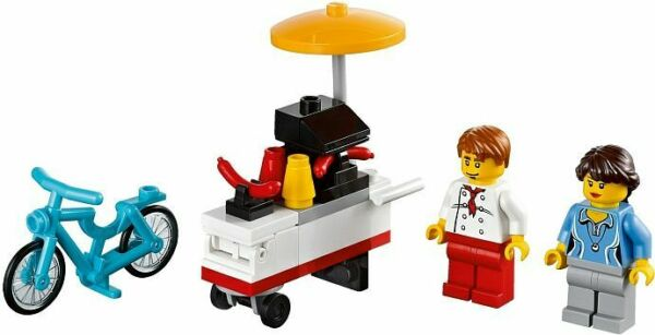 NEW LEGO Exclusive 2013 HOT DOG STAND 40078 Factory Sealed HTF $18.99