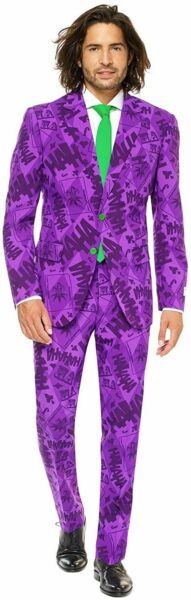 Opposuits Licensed Superhero Cosplay Character Costumes for The Joker Size 52 $61.40