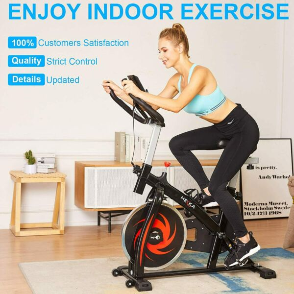 HEKAExercise Bicycle Cycling Fitness Stationary Bike Cardio Home Indoor NEWgt; $235.99